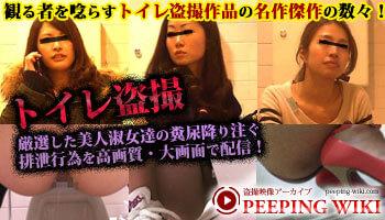厳選した美女淑女達の排泄行為を配信!トイレ盗撮!